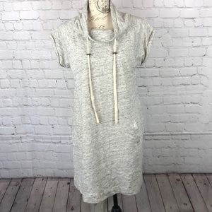 Ann Taylor LOFT Gray Sweatshirt Dress